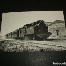 Postales: PALMA DE MALLORCA TREN ENTRANDO EN LA ESTACION DEL FERROCARRIL POSTAL. Lote 97068383