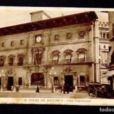 Postales: PALMA DE MALLORCA.CASA CONSISTORIAL.ED.MUMBRÚ.Nº 16.SIN CIRCULAR.. Lote 97122479