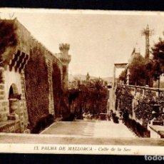 Postales: PALMA DE MALLORCA.CALLE DE LA SEO.ED.MUMBRÚ.Nº 13.SIN CIRCULAR.. Lote 97122619