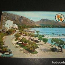 Postales: PUERTO POLLENSA MALLORCA. Lote 97152419