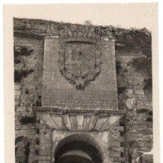 Postales: PS7739 IBIZA 'PUERTA MONUMENTAL EN LAS MURALLAS'. FOTOGRÁFICA. VIÑETS. SIN CIRCULAR. AÑOS 50. Lote 97213763