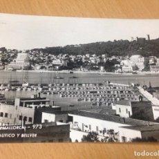 Postales: ANTIGUA POSTAL CLUB NAUTICO DE PALMA DE MALLORCA BALEARES. Lote 97351711