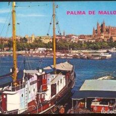 Postales: 22 - PALMA DE MALLORCA.- RINCON DE LA BAHIA Y CATEDRAL. Lote 98121247