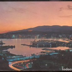 Postales: PALMA DE MALLORCA.- LA BAHIA DE NOCHE. Lote 98122751