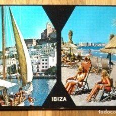 Postales: TURISTAS EN IBIZA. Lote 98675839
