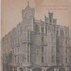 Postales: PALMA DE MALLORCA (ISLAS BALEARES) - GRAND HOTEL. Lote 99330099