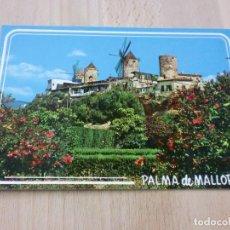 Postales: MOLINOS DEL JONQUET - PALMA (MALLORCA). Lote 99561911