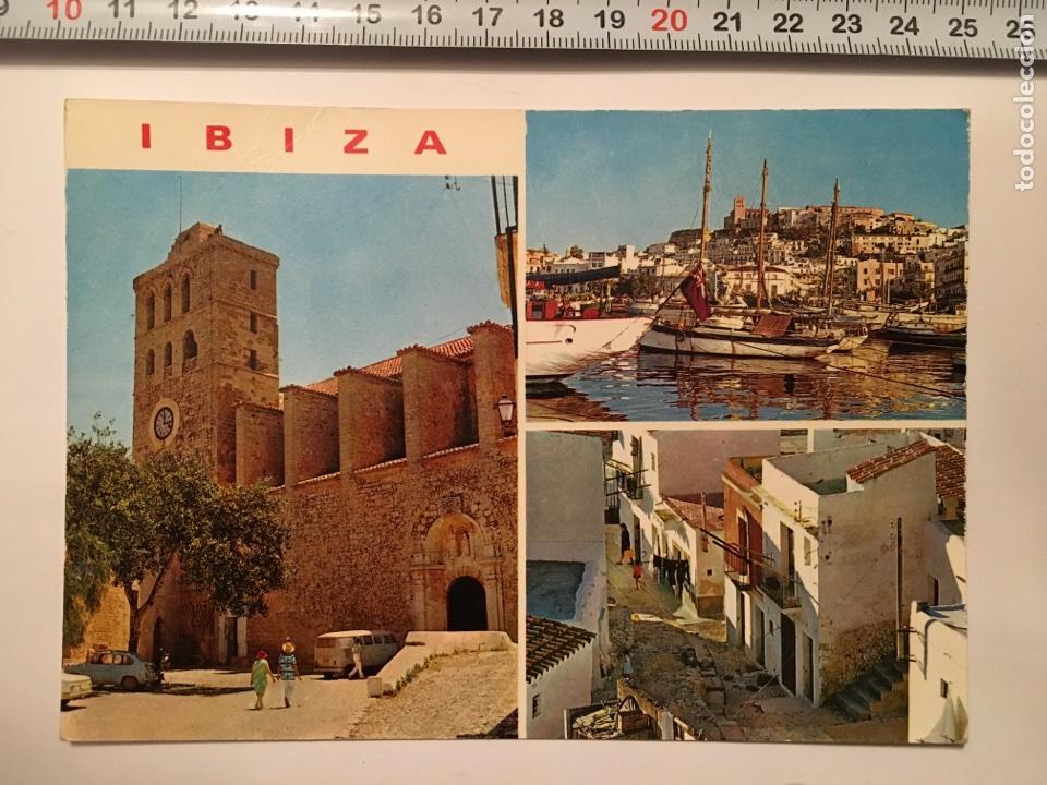 POSTAL. 275. IBIZA (BALEARES). DETALLES DE LA CIUDAD. CASA FIGUERETAS. H. 1960 (Postales - España - Baleares Moderna (desde 1.940))