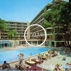 Postales: CANYAMEL MALLOCA HOTEL APARTAMENTOS CABALLITO BLANCO SIN CIRCULAR (FLOR DE ALMENDRO) AÑO 1972. Lote 99849655