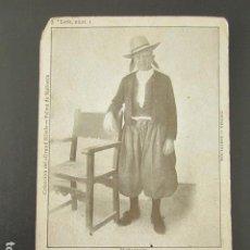 Postales: POSTAL MALLORCA. MALLORQUÍN. COLECCIÓN GRAND HOTEL. PRIMERA EDICIÓN, CIRCULADA. AÑO 1902. Lote 99959543