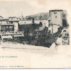 Postales: MALLORCA-CARTUJA DE VALLDEMOSA-LIBRERIA ESCOLAR-1900-HAUSER-SIN DIVIDIR MUY RARA. Lote 100010571