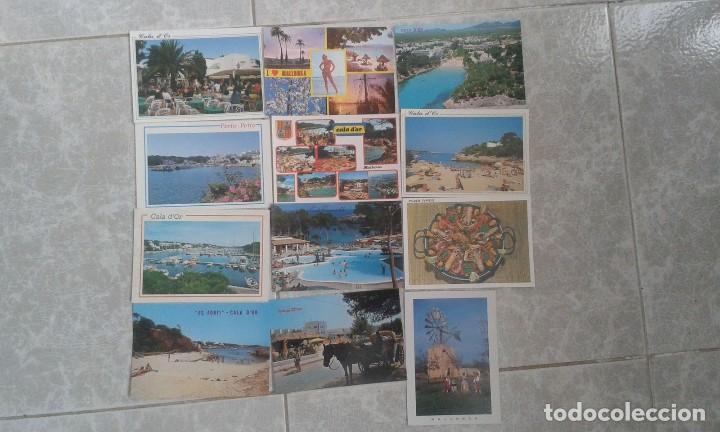 LOTE DE 12 POSTALES DE MALLORCA DE LOS AÑOS 80. (Postales - España - Baleares Moderna (desde 1.940))