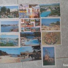 Postales: LOTE DE 12 POSTALES DE MALLORCA DE LOS AÑOS 80.. Lote 100176459