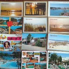Postales: LOTE DE 12 POSTALES DE MALLORCA DE LOS AÑOS 80.. Lote 100176475