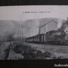 Postales: POSTAL ANTIGUA - BUÑOLA - BALEARES - LLEGADA DEL TREN - FERROCARRIL -(50.630). Lote 101081195
