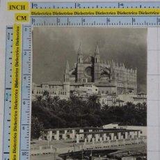 Postales: POSTAL DE MALLORCA. AÑOS 30 50. PALMA, CATEDRAL Y PUERTO. 157 CYP. 1351. Lote 101332535