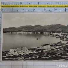 Postales: POSTAL DE MALLORCA. AÑOS 30 50. POLLENSA, EL PUERTO. 384 AM. 1367. Lote 101333127