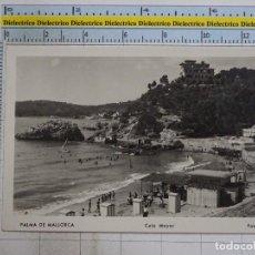 Postales: POSTAL DE MALLORCA. AÑOS 30 50. PALMA, CALA MAYOR. TRUYOL. 1370. Lote 101333259