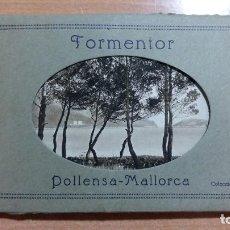 Postales: CARPETA CON 14 ANTIGUAS POSTALES, FORMENTOR, POLLENSA-MALLORCA. COLECCION BESTARD. SIN USO. W. Lote 101632971