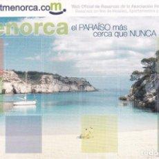 Postales: POSTAL MENORCA. Lote 103987063