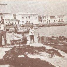 Postales: MENORCA MUELLE DE FORNELLS 1931. Lote 104086055