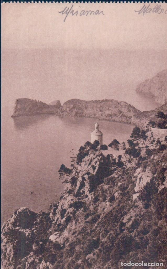POSTAL MALLORCA - MIRAMAR - SERIE TRUYOL - HUECOGRABADO MUMBRU (Postales - España - Baleares Antigua (hasta 1939))