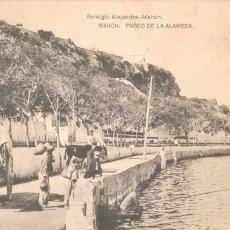 Postales: MAHON PASEO DE LA ALAMEDA 1926. Lote 105338447