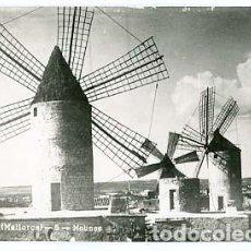 Postales: MALLORCA MANACOR MOLINOS. J. VENY. POSTAL FOTOGRÁFICA, CIRCULADA. Lote 106086959