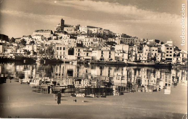 IBIZA. VISTA PARCIAL. CIRCULADA. SIN SELLO, FOT. VIÑETS (Postales - España - Baleares Moderna (desde 1.940))