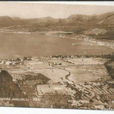Postales: PUERTO POLLENSA (MALLORCA) - VISTA GENERAL - TALLERES A. ZERKOWITZ. Lote 108086295