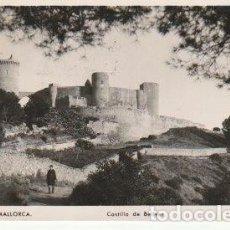 Postales: PALMA DE MALLORCA CASTILLO DE BELLVER FOTO TRUYOL CIRCULADA A VALENCIA DESDE SOLLER EN 1952 C-7. Lote 108317215