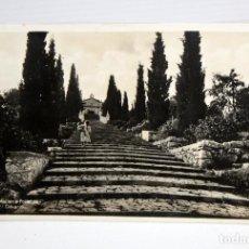 Postales: ANTIGUA FOTO POSTAL DE POLLENSA. MALLORCA. EL CALVARIO. CIRCULADA. Lote 108440195