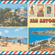 Postales: 1484 - SAN ANTONIO - IBIZA. Lote 108794159