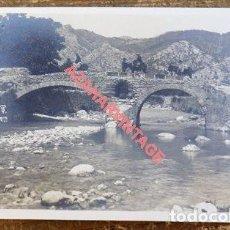 Postales: POLLENSA MALLORCA PUENTE ROMANO FOTOGRAFICA , TRUYOL. Lote 108872735