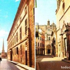 Postales: CIUDADELA - MENORCA -CALLE MAYOR DEL BORNE Y CALLE ROSARIO- (ED. HERNANDO Nº 23)SIN CIRCULAR/ P-1809. Lote 109383295
