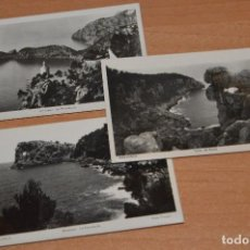 Postales: ANTIGUAS RARAS - LOTE DE 3 POSTALES SIN CIRCULAR MALLORCA - ISLAS BALEARES - FOTO TRUYOL - HAZ OFERT. Lote 109401287