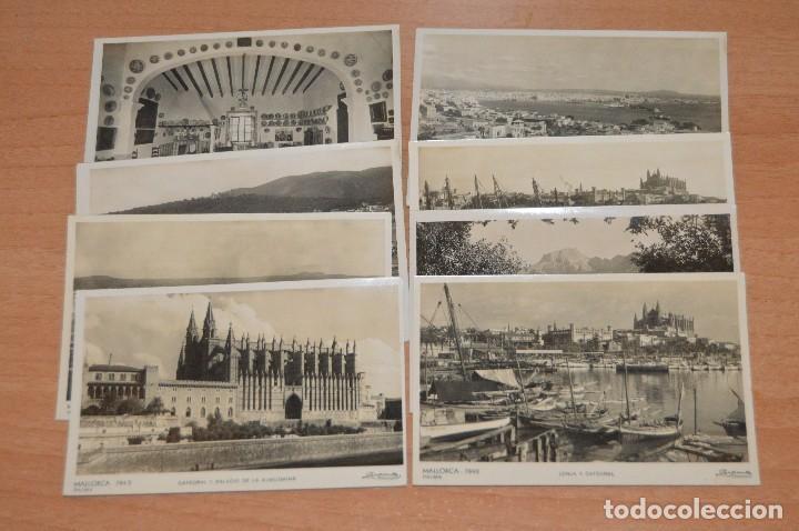 ANTIGUAS RARAS - ZERKOWITZ - LOTE DE 8 POSTALES SIN CIRCULAR MALLORCA - ISLAS BALEARES (Postales - España - Baleares Moderna (desde 1.940))