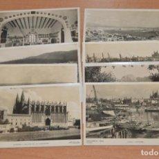 Postales: ANTIGUAS RARAS - ZERKOWITZ - LOTE DE 8 POSTALES SIN CIRCULAR MALLORCA - ISLAS BALEARES. Lote 109401551