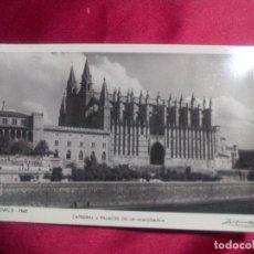 Postales: TARJETA POSTAL. MALLORCA. 7842. PALMA. CATEDRAL Y PALACIO DE LA ALMUDENA. ZERKOWITZ. Lote 109636787