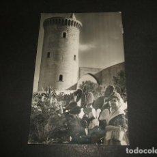 Postales: PALMA DE MALLORCA CASTILLO DE BELLVER TORRE DEL HOMENAJE. Lote 109787071
