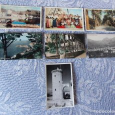 Postales: LOTE DE 7 POSTALES MALLORCA - DIFERENTES EDITORES - BUEN ESTADO. Lote 109850983