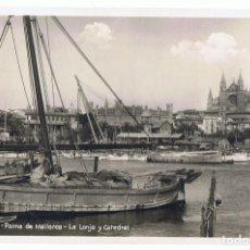 Postales: POSTAL PALMA DE MALLORCA LA LONJA Y CATEDRAL Nº 163 . Lote 110025615