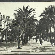 Postales: 636 - PALMA (MALLORCA) PASEO SEGRERA - ZERKOWITZ 1959 - CIRCULADA 1965 -. Lote 110180811