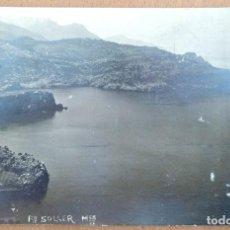 Postales: POSTAL PUERTO DE SOLLER (MALLORCA) VISTA CIRCULADA 1926. Lote 110185255