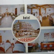 Postales: POSTAL MALLORCA CALA GAMBA HOTEL VORAMAR. Lote 110247067