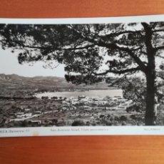 Postales: POSTAL IBIZA SANT ANTONIO ABAD VISTA PANORÁMICA - BALEARES AÑO 1957 FOT. VIÑETS. Lote 110257748