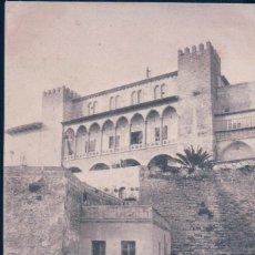 Postales: POSTAL PALMA DE MALLORCA - GALERIA DEL PALACIO DE LA ALMUDARRA - JOSE TOUS - SIN DIVIDIR. Lote 111088711