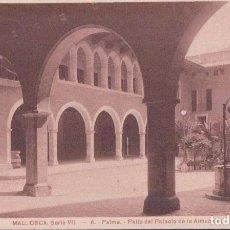 Postales: POSTAL MALLORCA - SERIE VII - 6 PALMA - PATIO DEL PALACIO DE LA ALMUDAINA - CENTRO DEL TURISMO. Lote 111219467