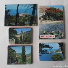 Postales: CINCO BLOCS DESPLEGABLES DE POSTALES DE MALLORCA. Lote 111693347