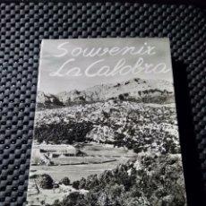 Cartes Postales: MALLORCA 10 POSTALES EN BLOCK .- SOUVENIR LA CALOBRA .-EXCL. M. AGUILERA. Lote 111693560